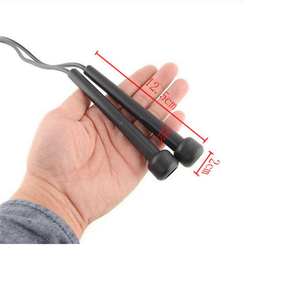 Corda de Pular Crossfit em Pvc com Rolamento