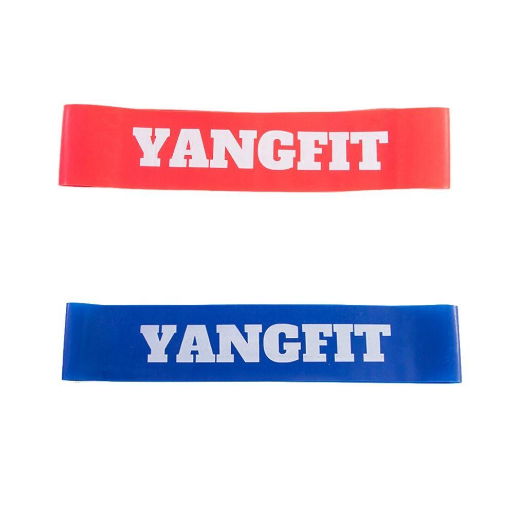 Kit 2 Mini Bands Faixas Elásticas Circulares Yangfit