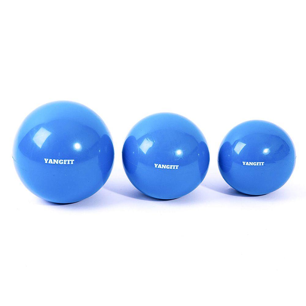 Kit Bolas Tonificadoras Toning Ball 1kg 2kg e 3kg
