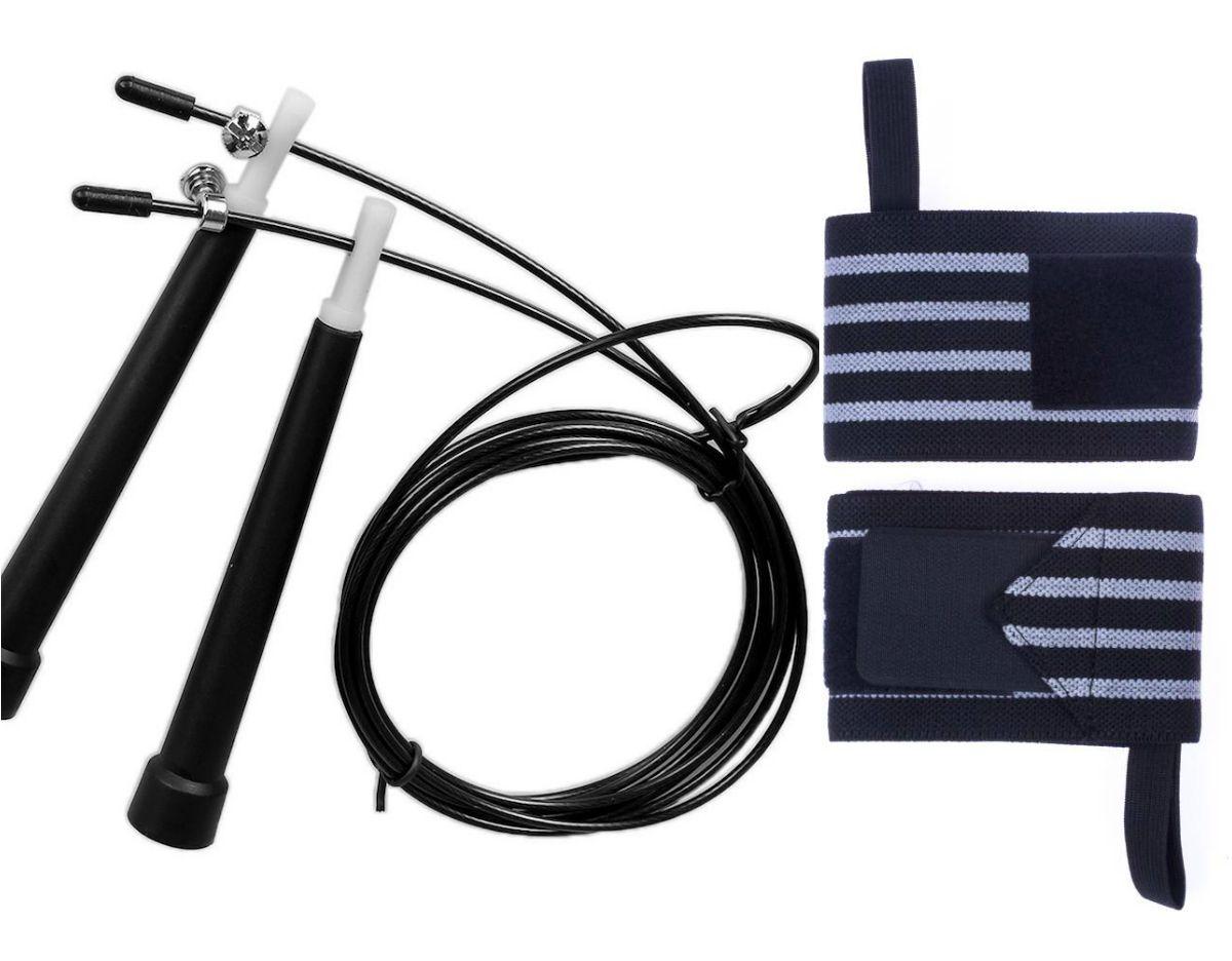 Kit Corda de Pular + Munhequeira Profissional