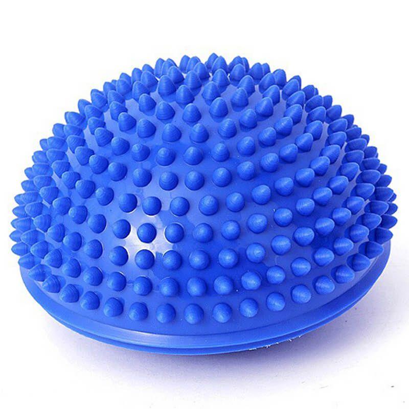 Mini Bosu Meia Bola de Equilíbrio Textualizado – 16cm