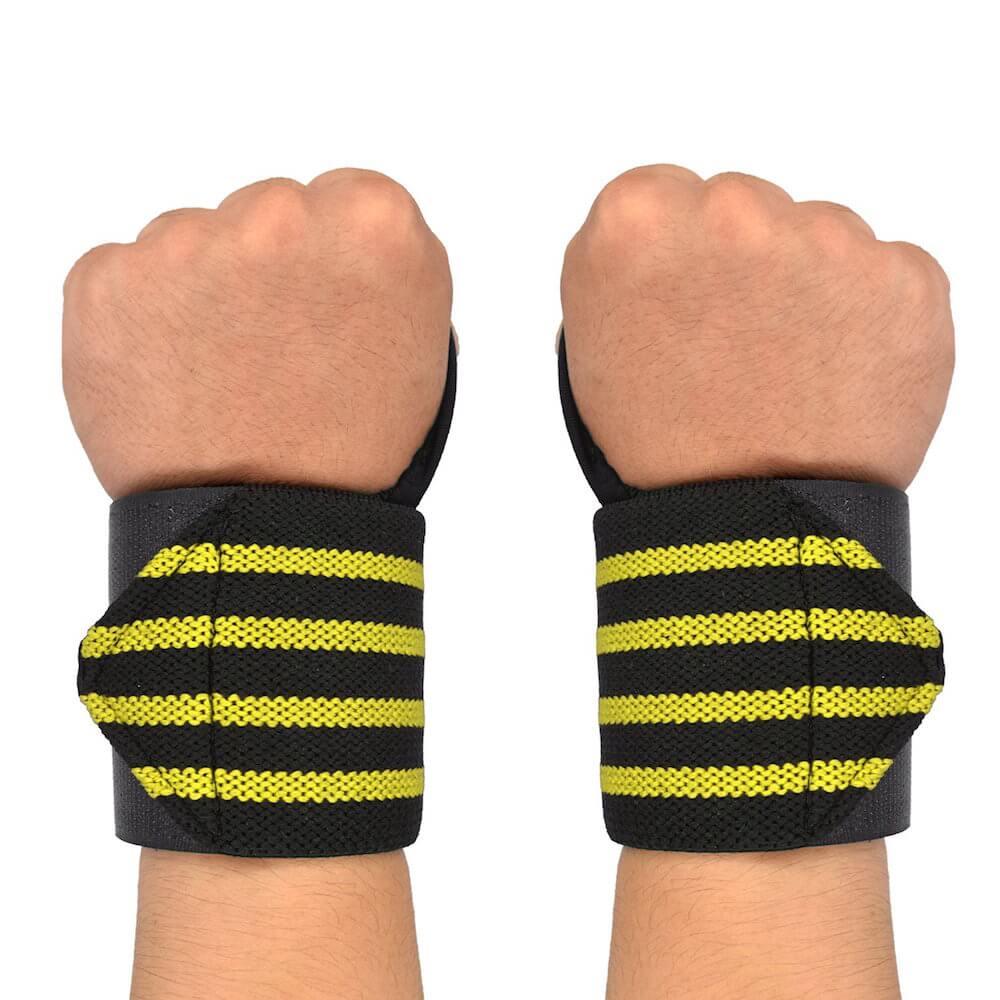 Munhequeira Profissional Para Musculação LPO Cross Training - Par