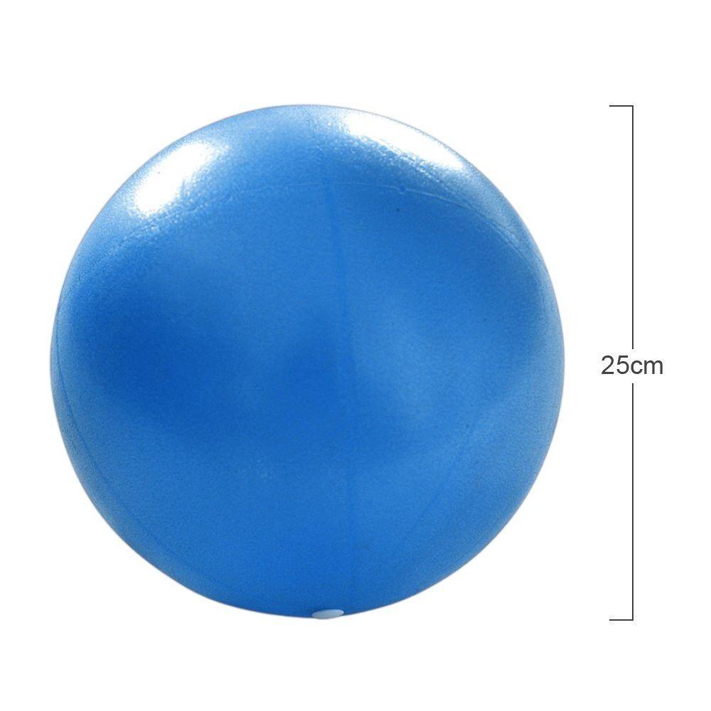 Bola Pilates Overball 25cm para Exercícios e Fisioterapia