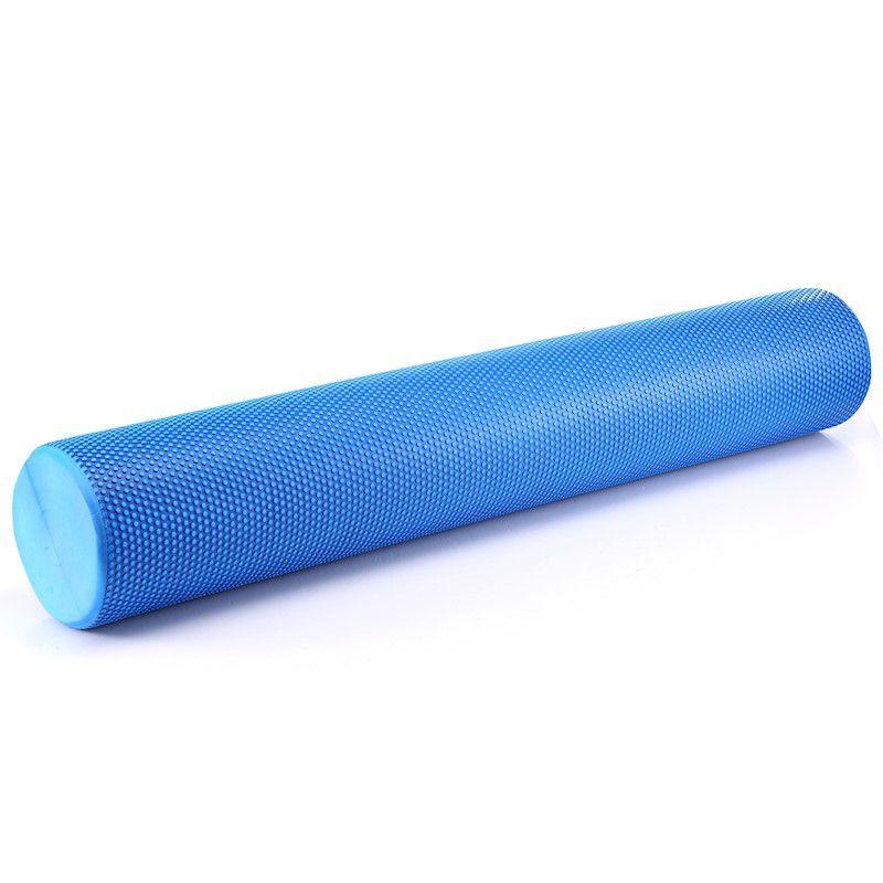 Rolo de Massagem Liberação Miofascial Foam Roller 90x15cm com Textura