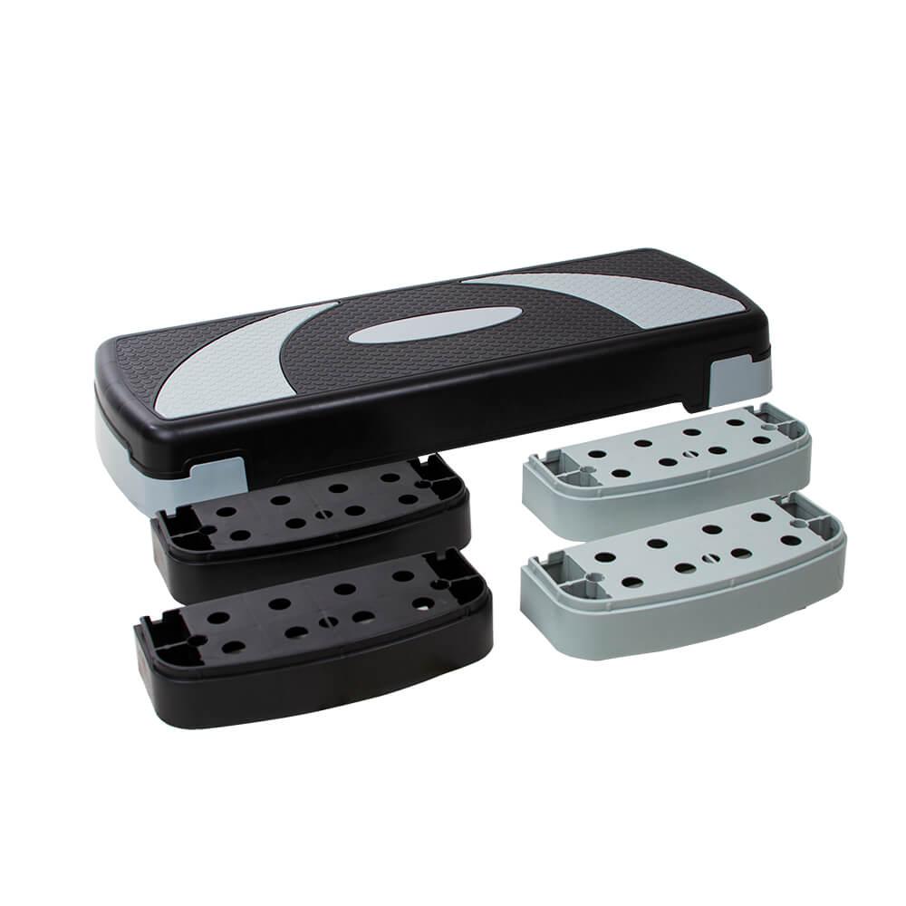 Step PVC Funcional Ajustável 3 Níveis de Altura