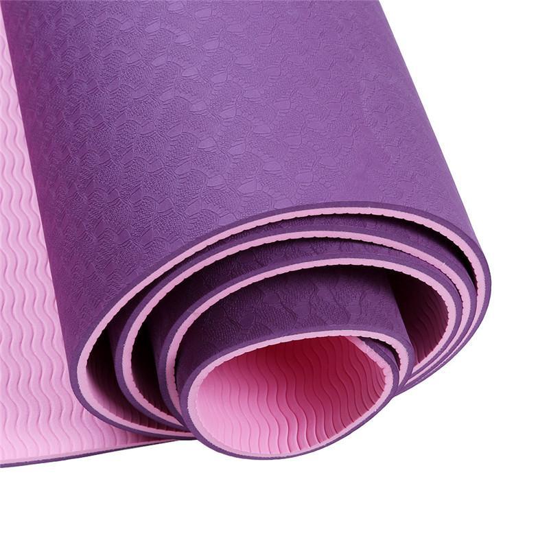 Tapete Yoga Mat TPE Com Bolsa