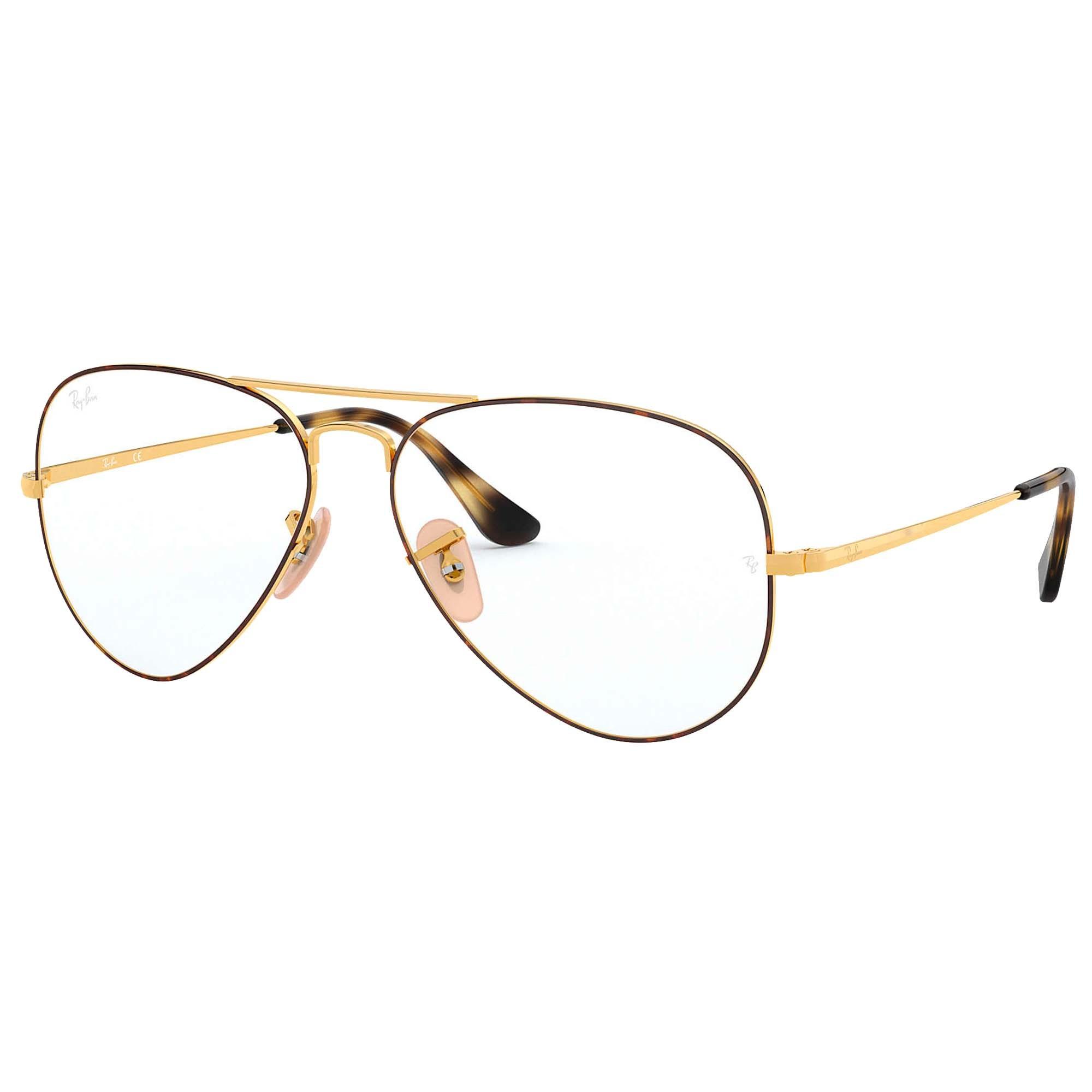 Óculos de Grau Masculino Ray-Ban Aviator Optics RB6489 2945 58-14