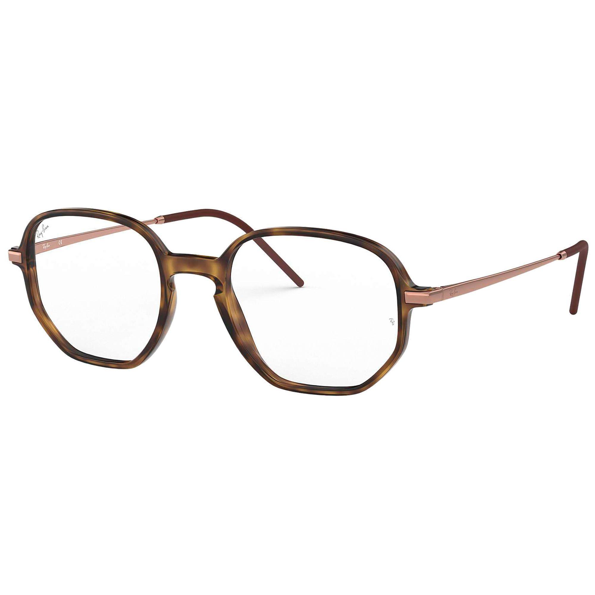 Óculos de Grau Unissex Ray-Ban RB7152 5365 52-19