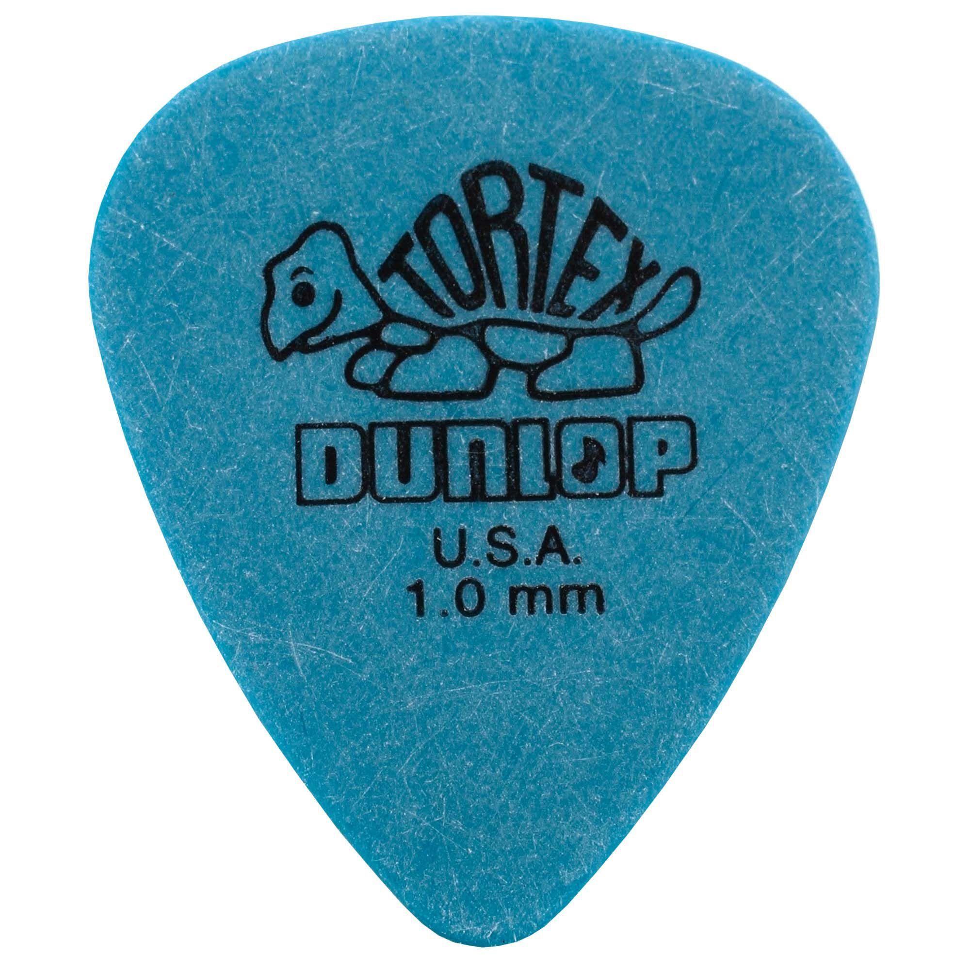Palheta Jim Dunlop Tortex Standard 418-100 1.00 mm Azul