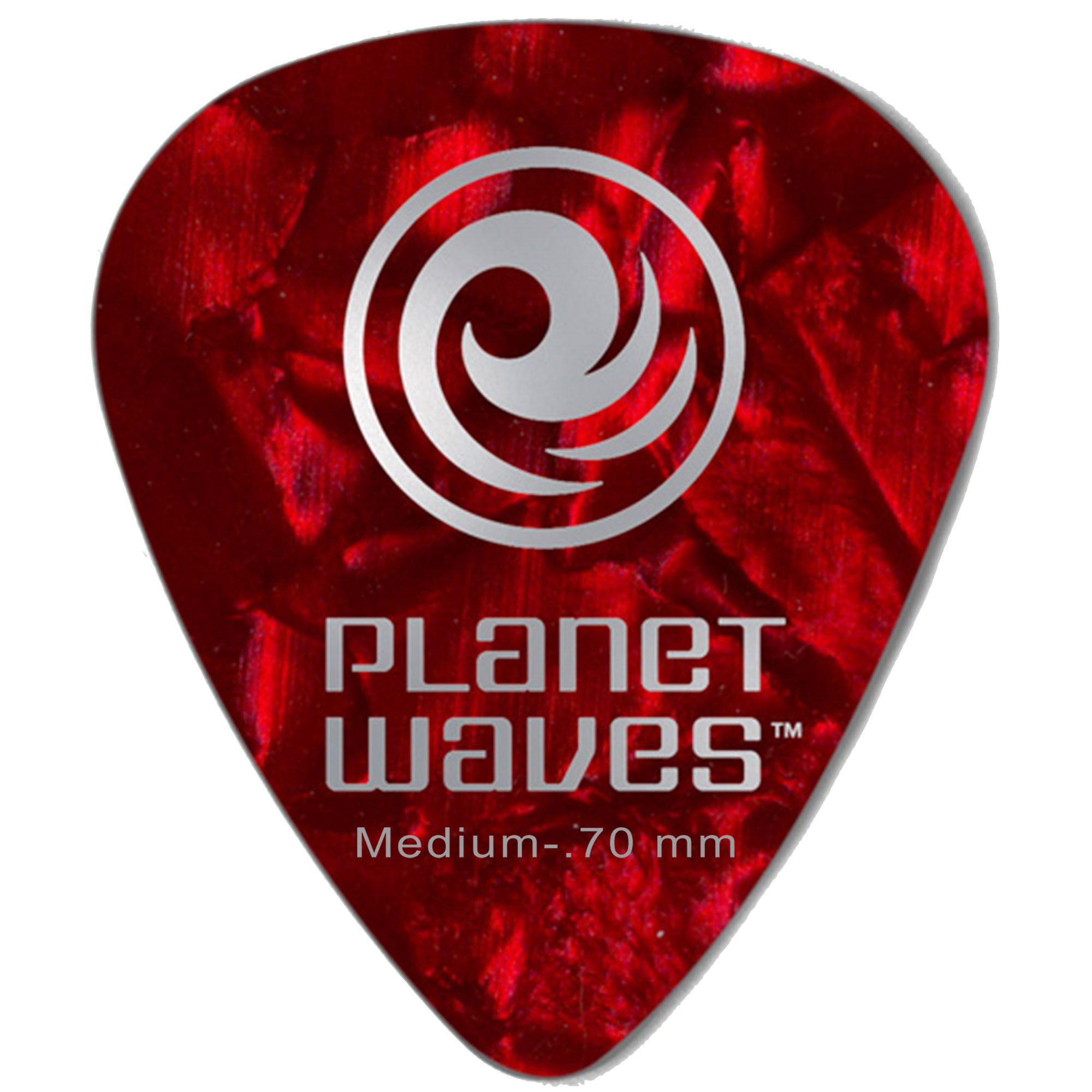 Palheta Planet Waves Celluloid 0.50mm Vermelha