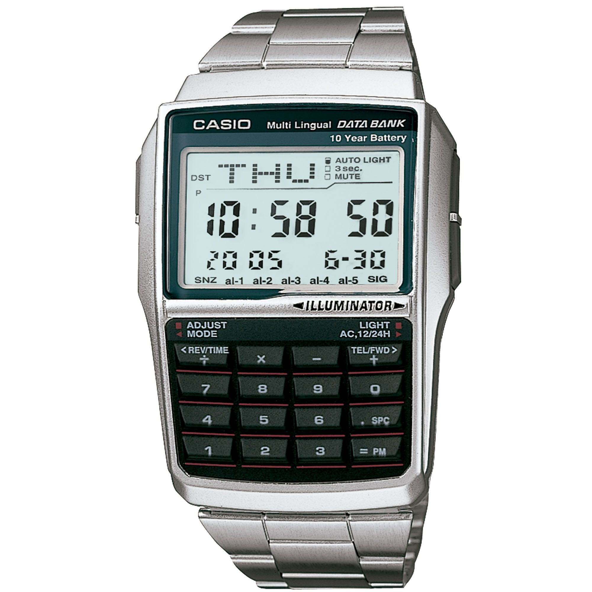 Relógio Unissex Casio Vintage DBC-32D-1ADF