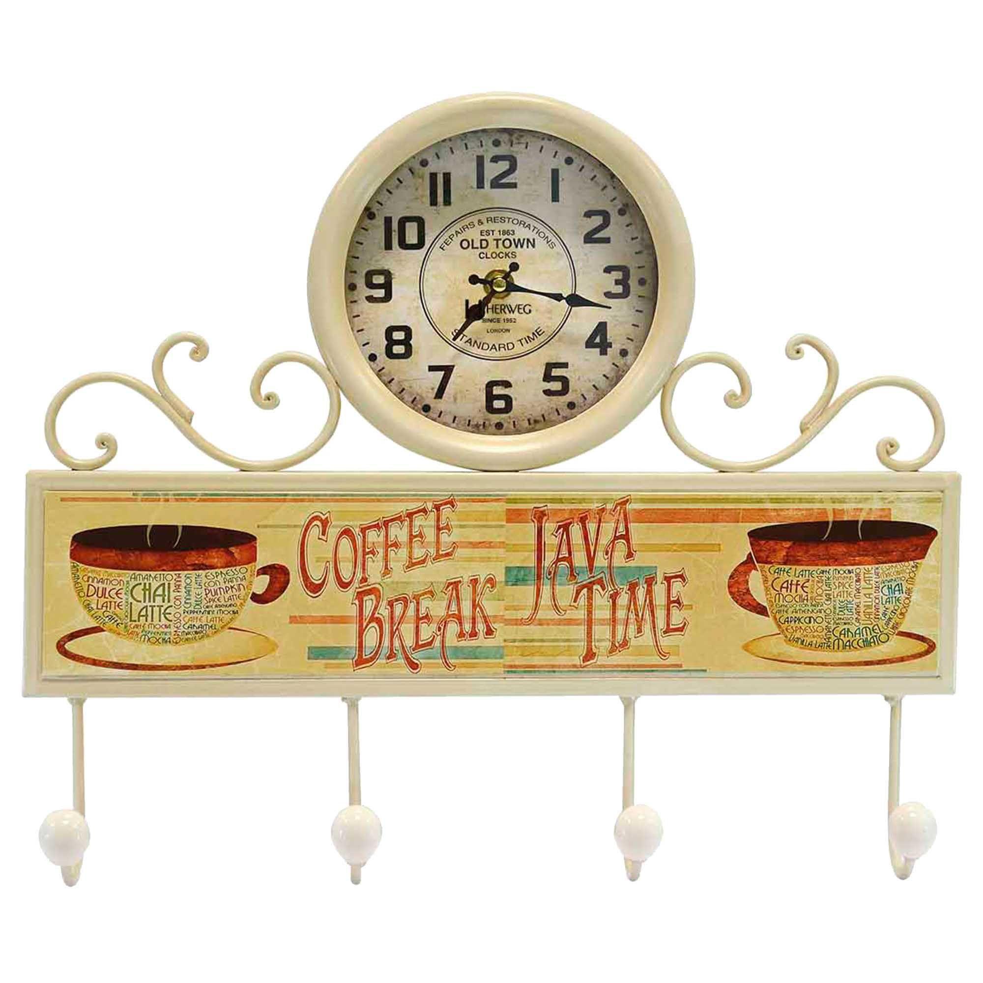 Relógio de Parede Jardim/Chaves Herweg 6424 032 Marfim