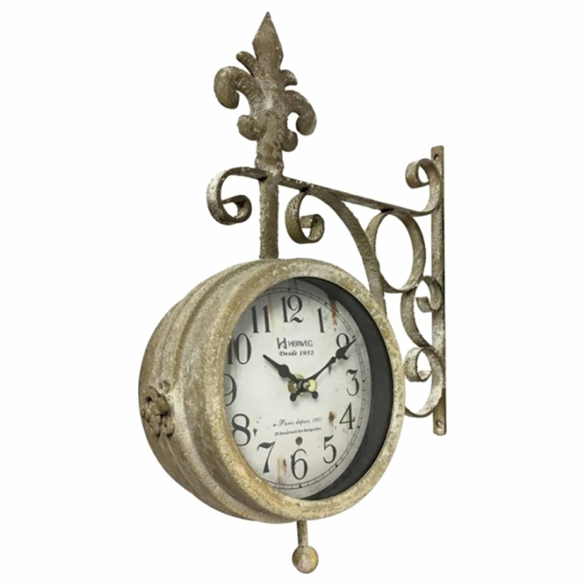 Relógio de Parede Jardim Herweg 6475 999 Natural