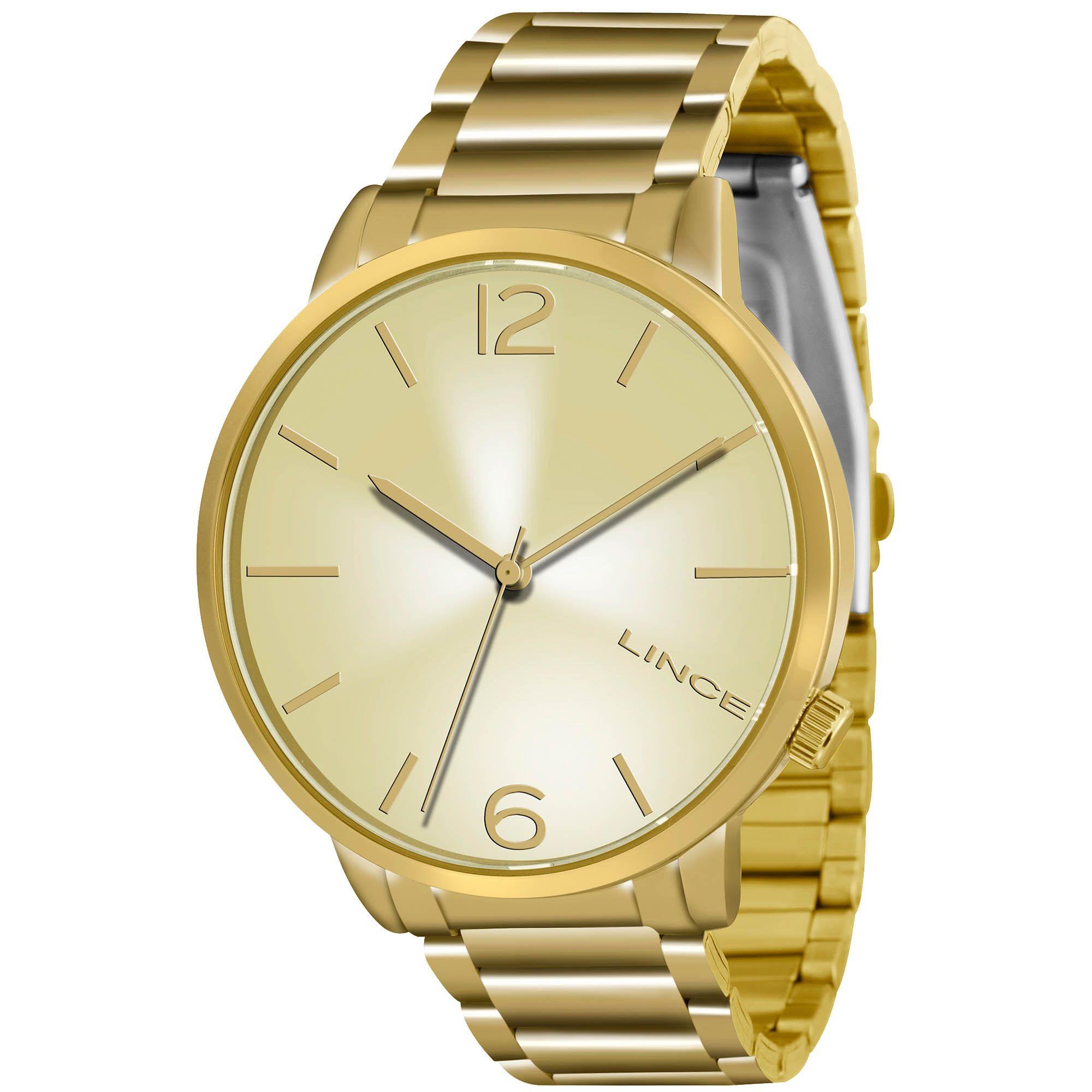 Relógio Feminino Lince LRGJ043L C2KX