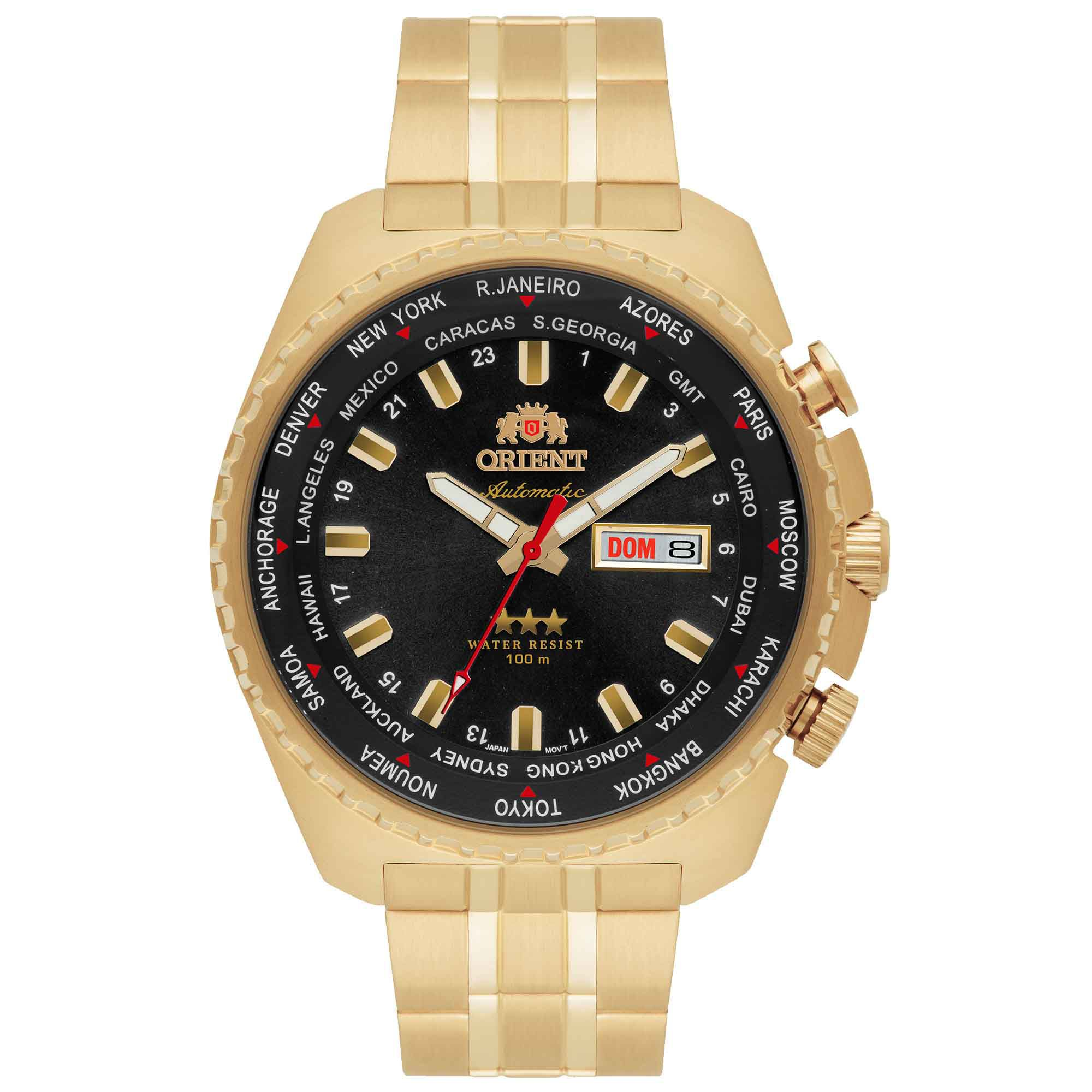 Relógio Masculino Orient 469GP057 P1KX