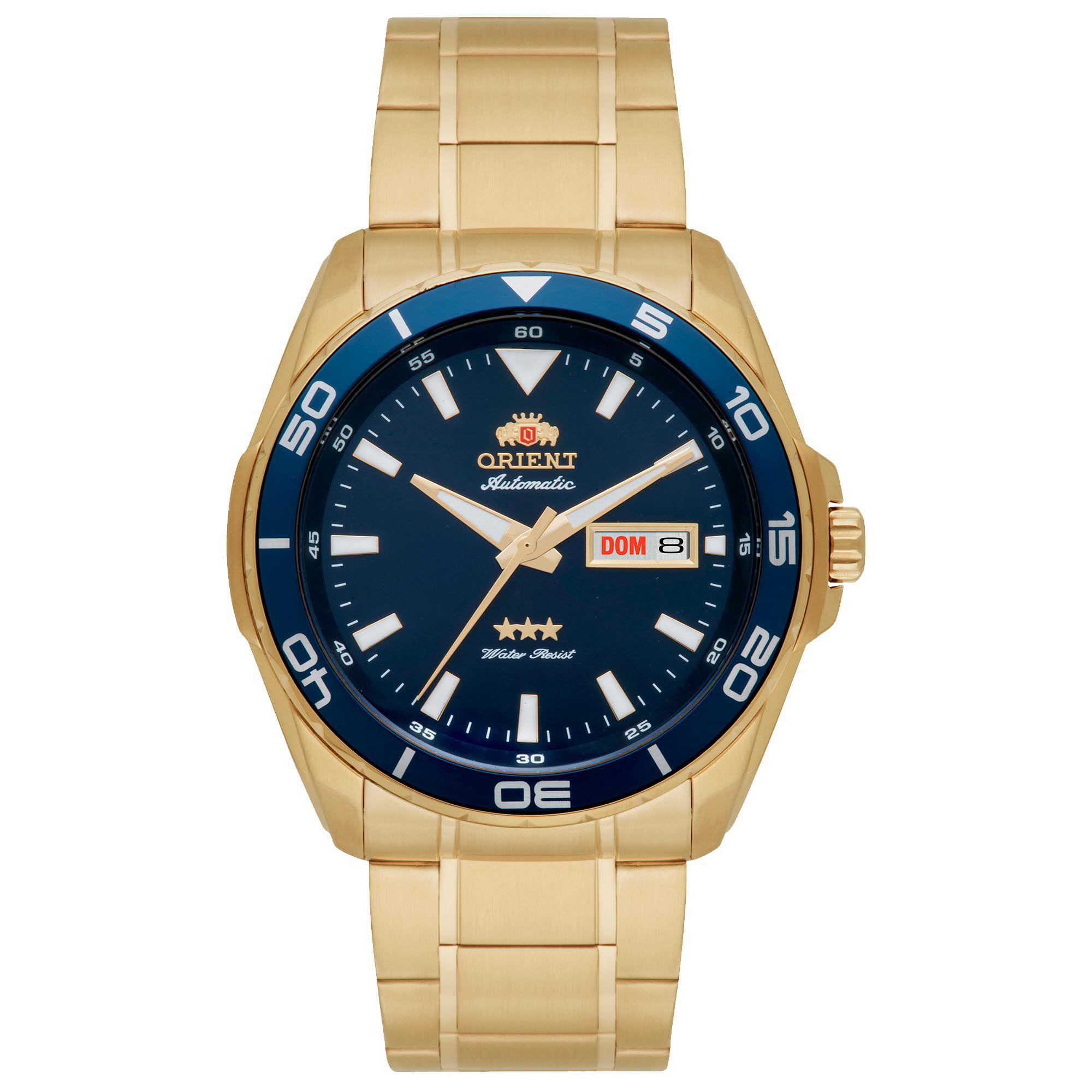 Relógio Masculino Orient 469GP063 D1KX