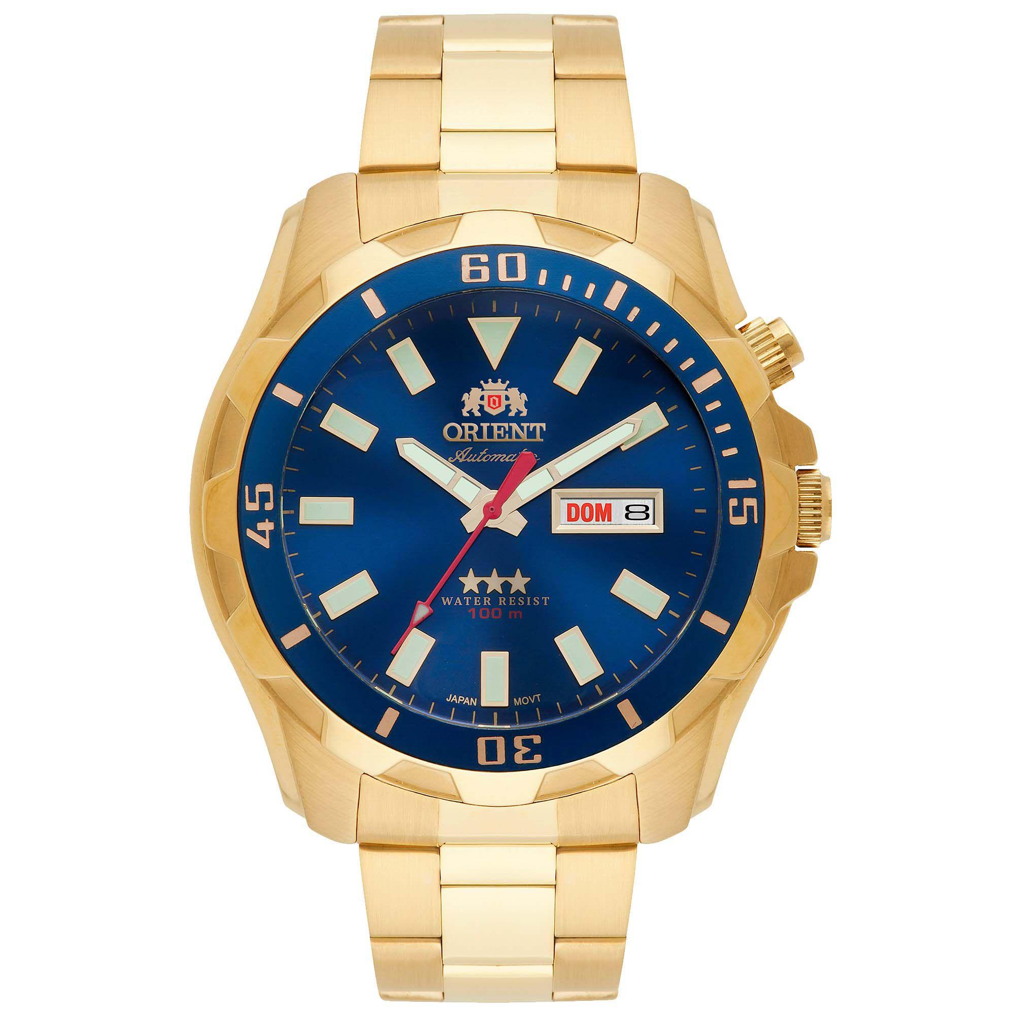 Relógio Masculino Orient 469GP078 D1KX