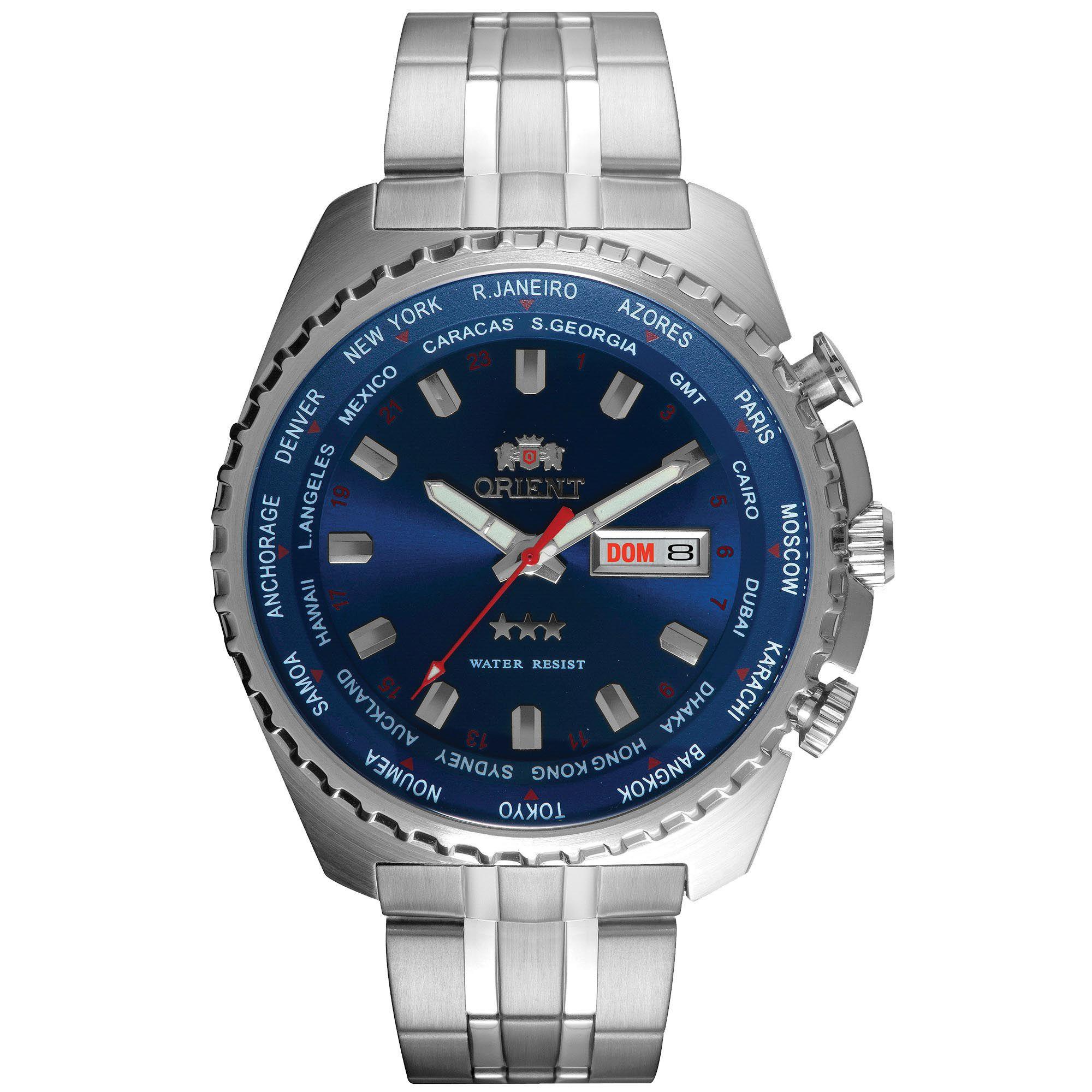 Relógio Masculino Orient 469SS057 D1SX