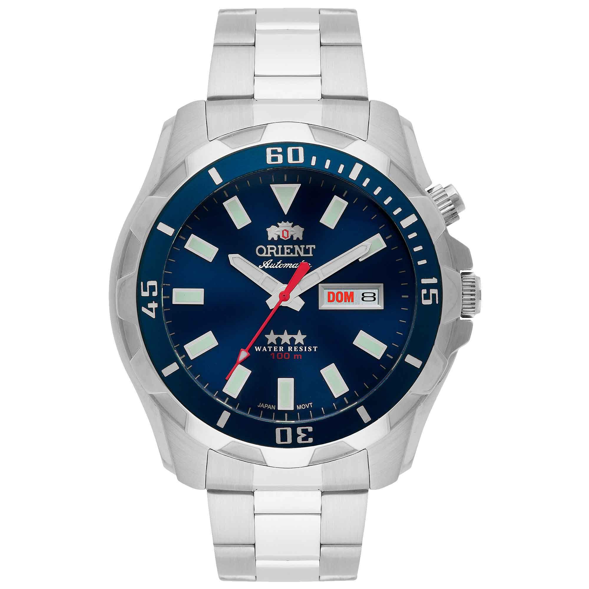 Relógio Masculino Orient 469SS078 D1SX