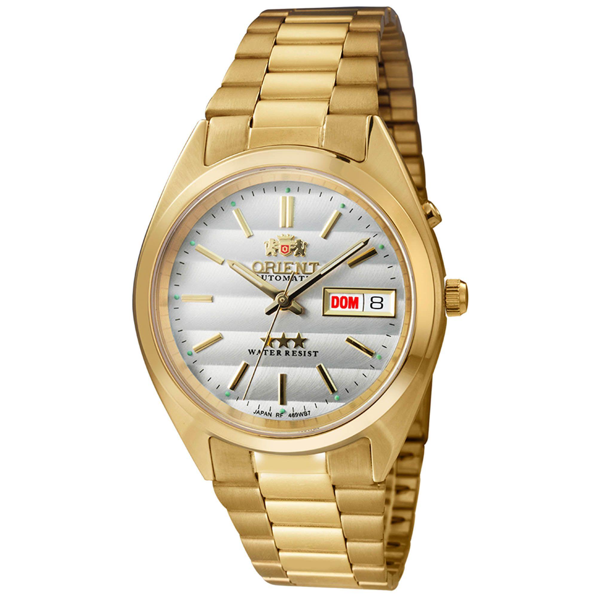 Relógio Masculino Orient 469WC2 B1KX