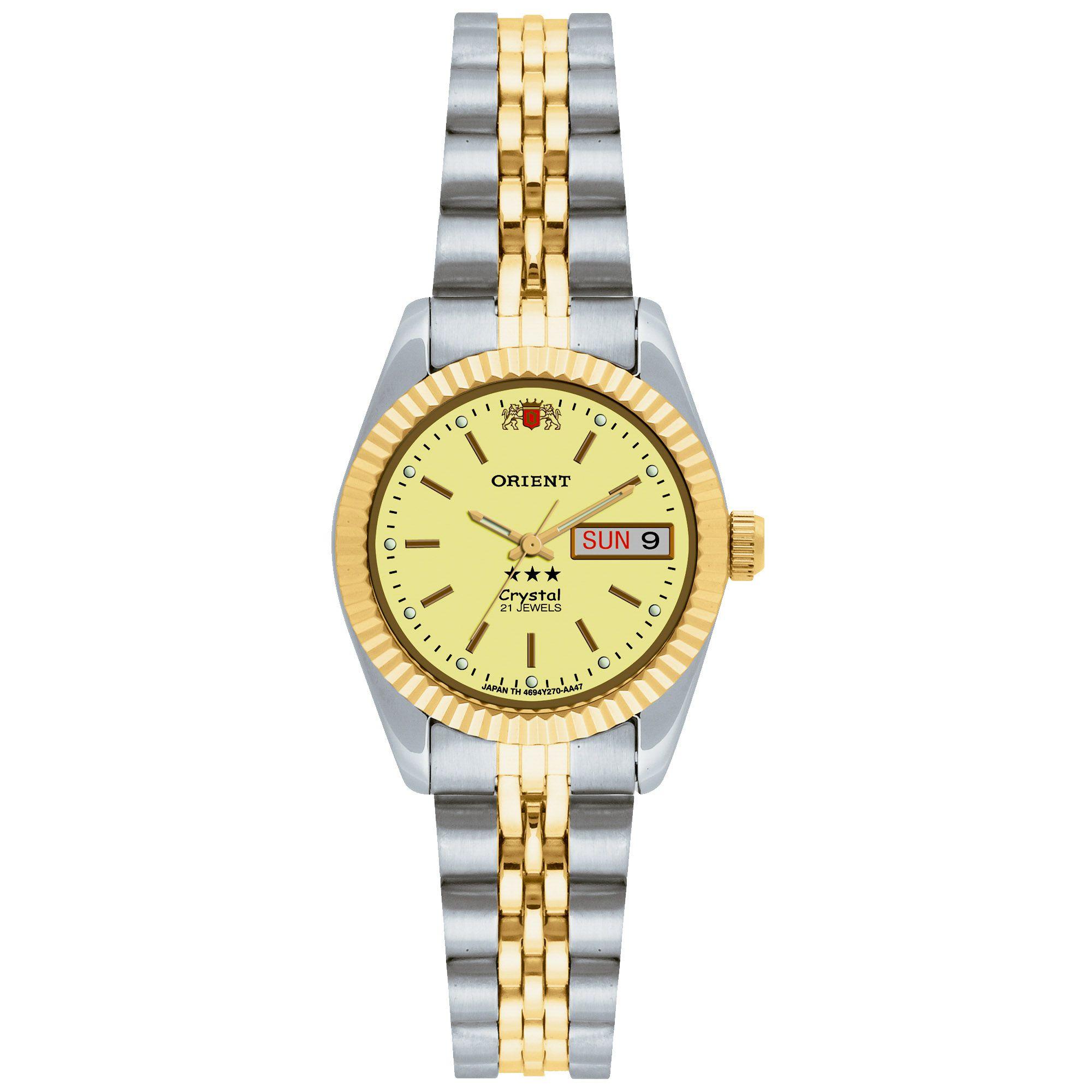 Relógio Feminino Orient 559EB3X C1SK