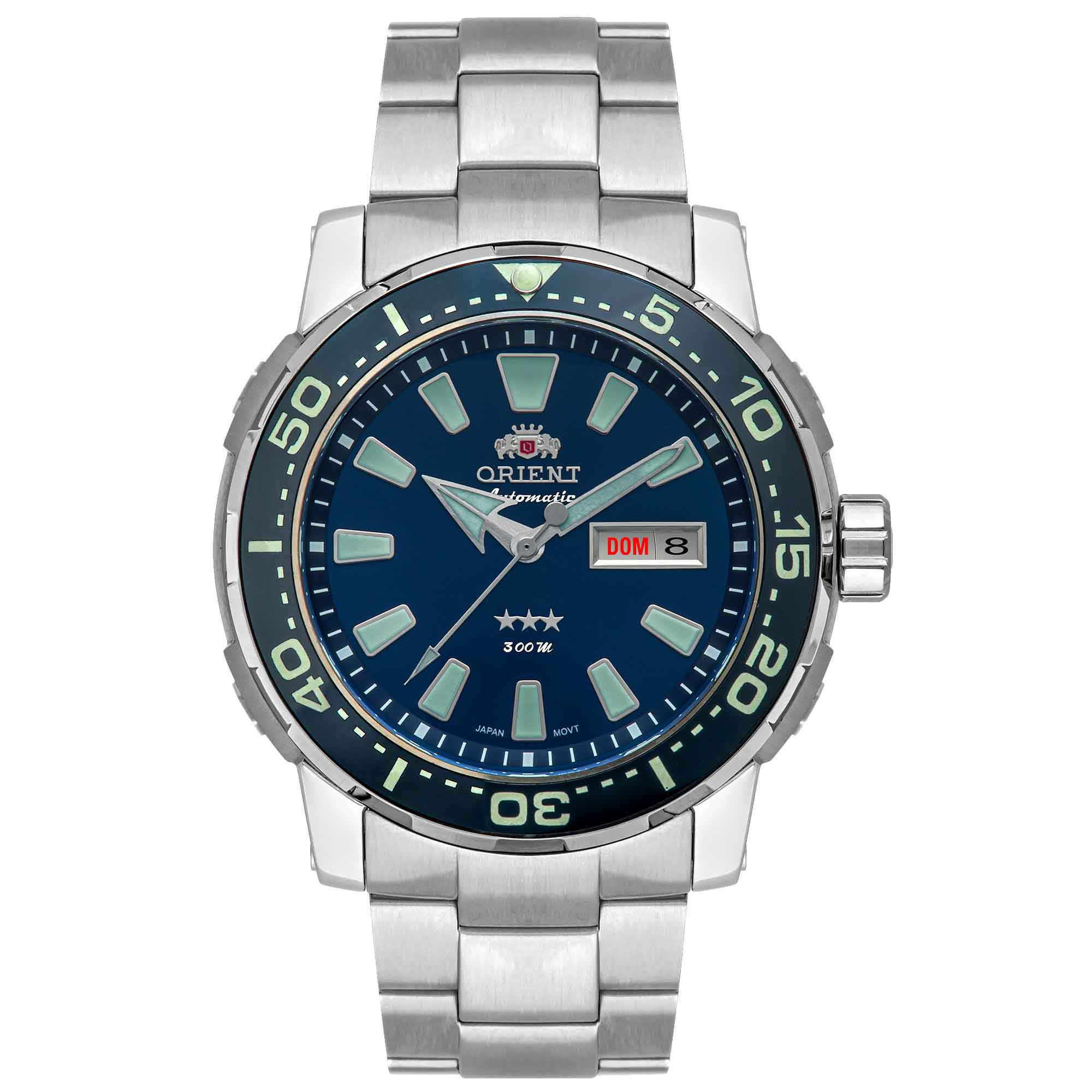 Relógio Masculino Orient F49TT001 D1GX Titânio Kit Pulseiras