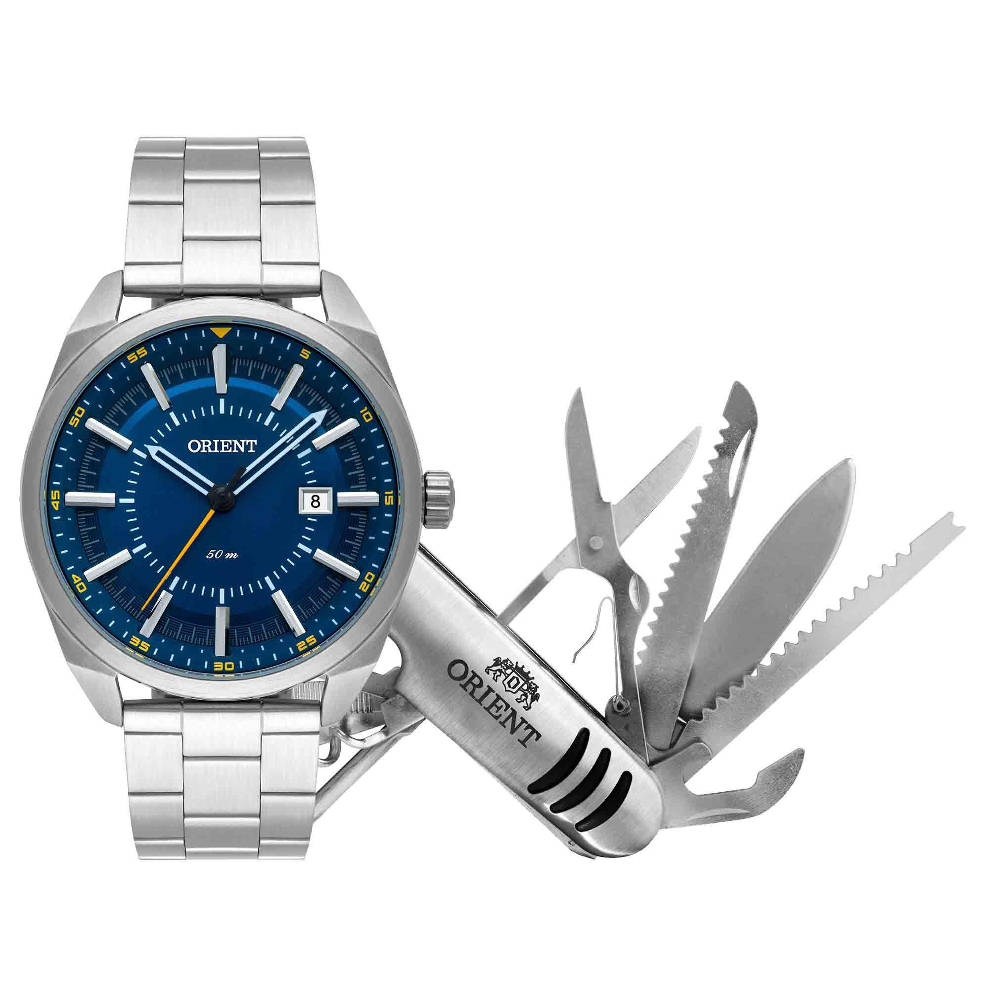 Relógio Masculino Orient MBSS1346 KW91D1SX