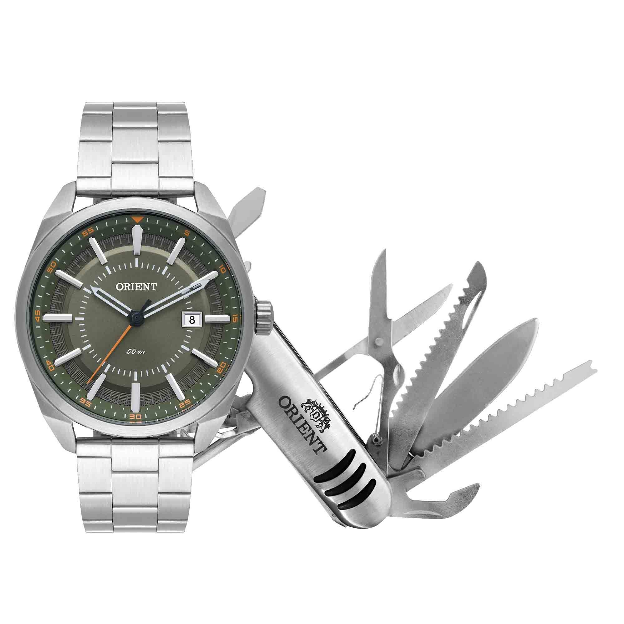 Relógio Masculino Orient MBSS1346 KW92E1SX