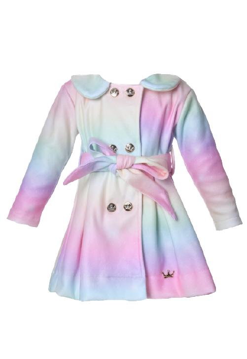 Casaco Infantil Tie Dye
