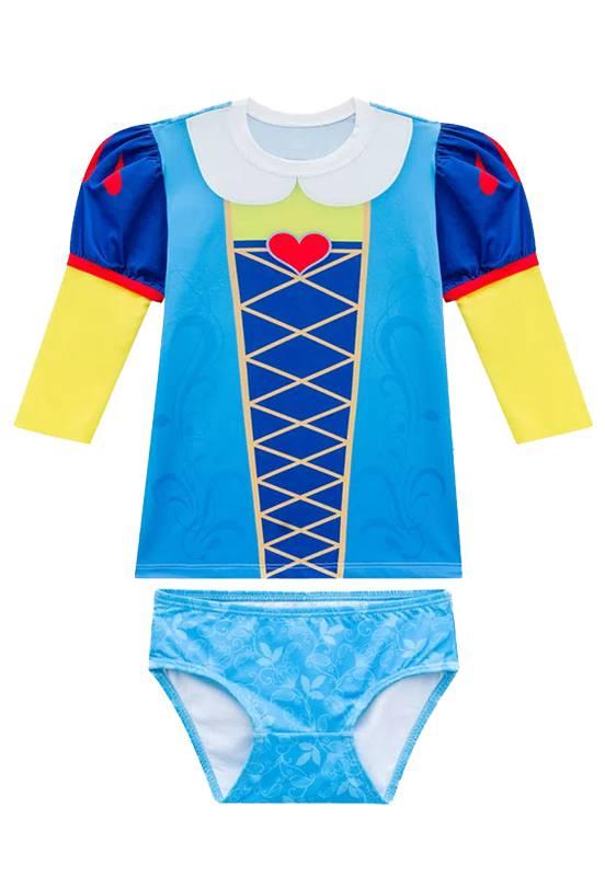 Conjunto Camisa UV Bebê Princesa