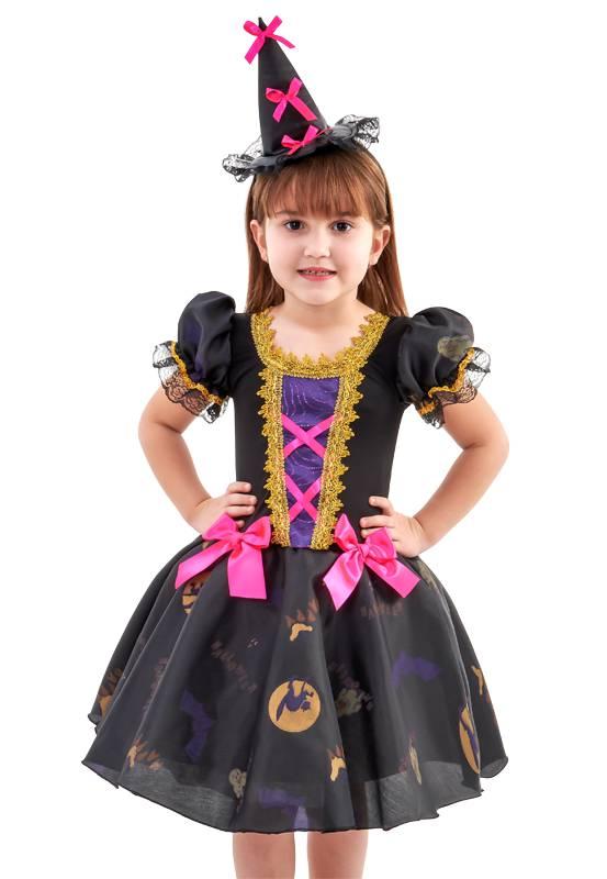 Fantasia Bruxa Infantil Halloween