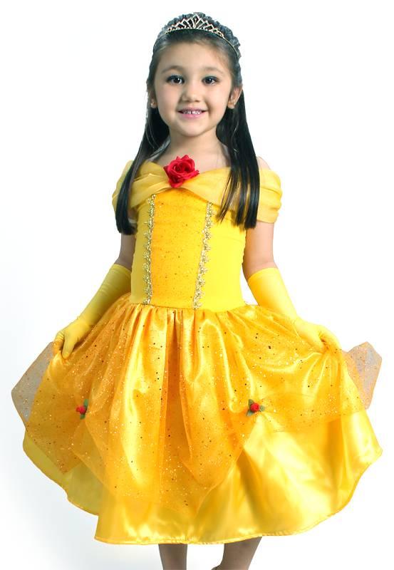Fantasia Princesa Amarela
