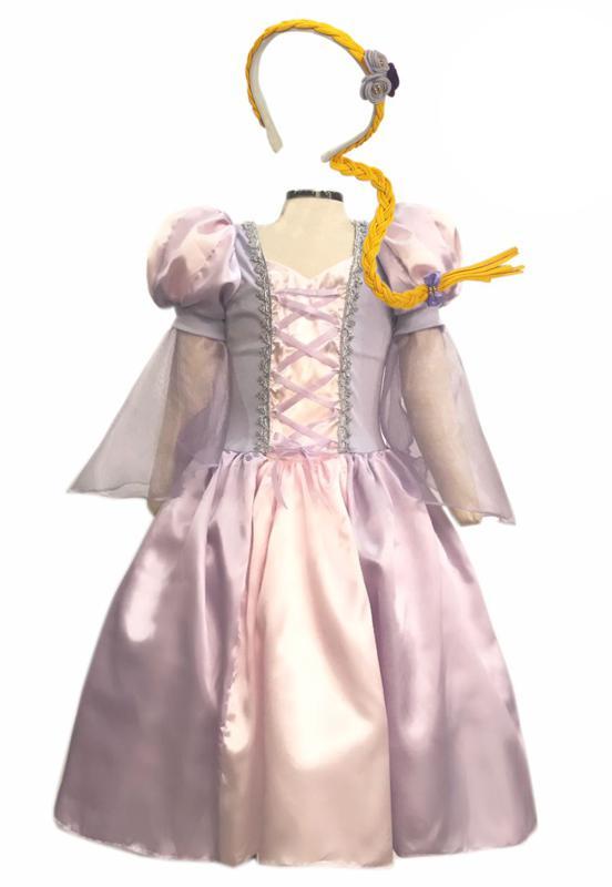 Fantasia Princesa Lilás