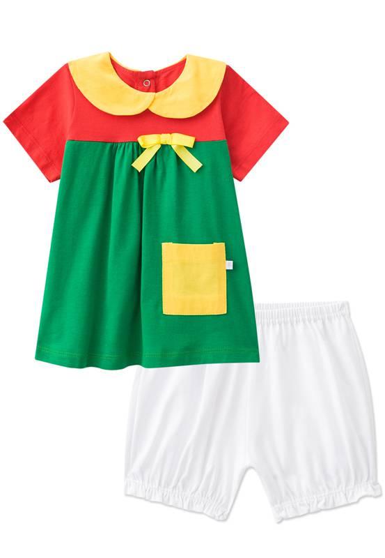 Pijama - Fantasia Chiquinha Bebê