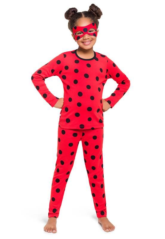Pijama - Fantasia Ladybug Longo