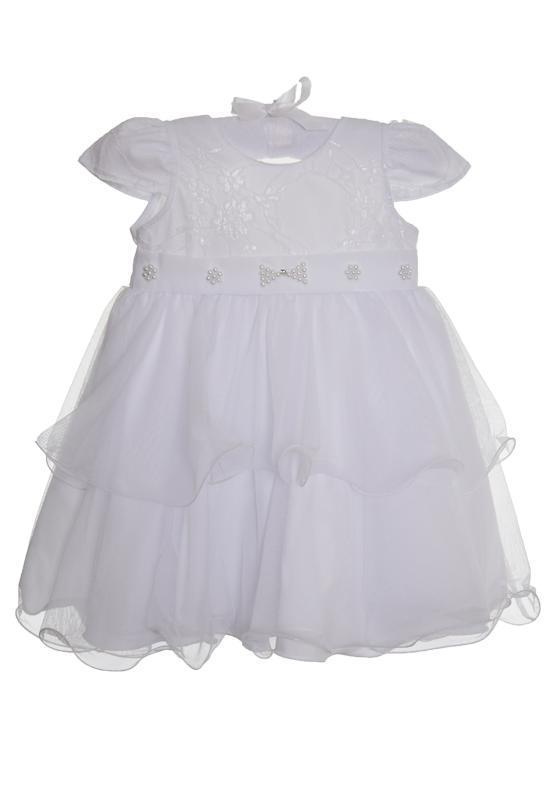 Vestido Branco com Lacinho