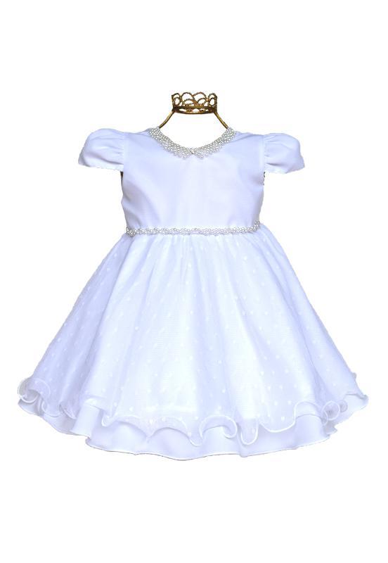 Vestido branco com pérolas - 2