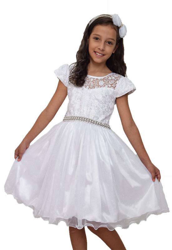 Vestido Branco Festa - 6
