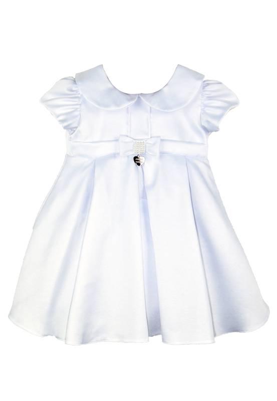 Vestido Branco infantil bebê