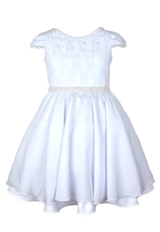 Vestido Branco infantil Festa