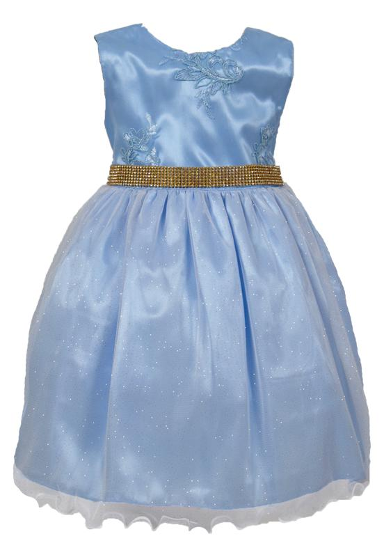 Vestido Enjoy Kids Princesa Azul
