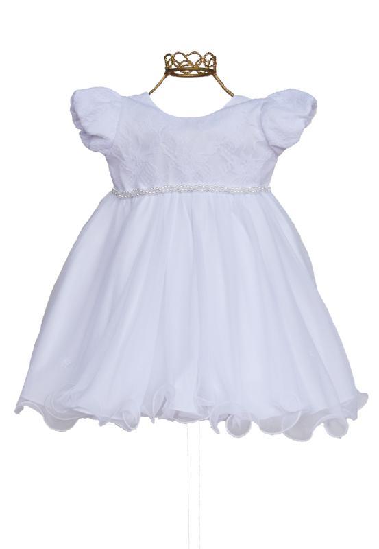 Vestido Festa Branco - G