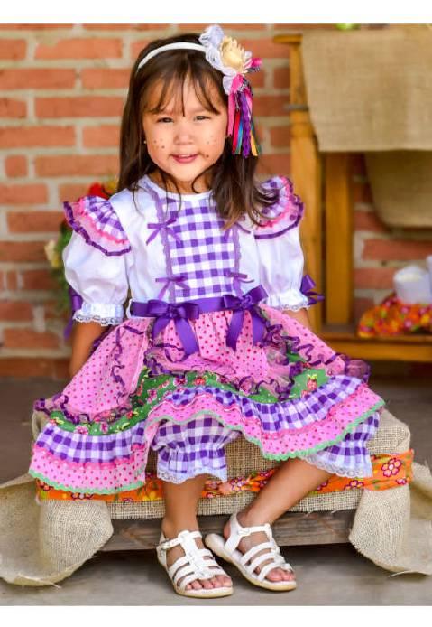 Vestido Festa Junina Aventalzinho