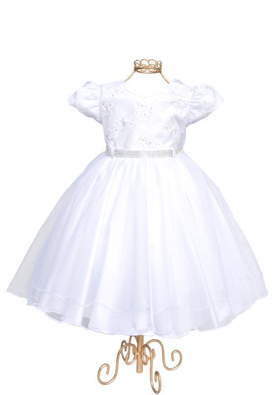 Vestido Infantil Branco - 1