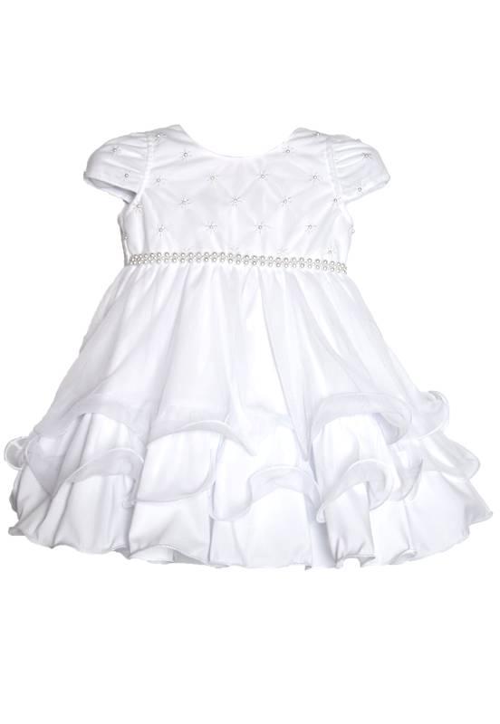 Vestido Infantil Festa Branco