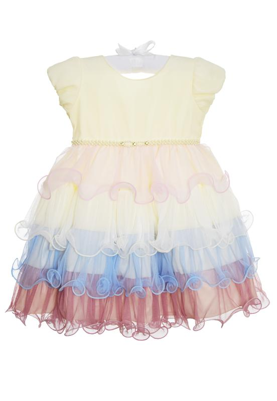 Vestido Infantil Nelu Babado - 2
