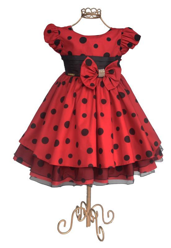 Vestido Ladybug - Joaninha