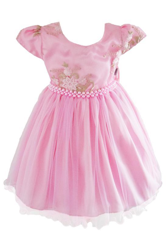 Vestido Marie Festa Luxo Rosa
