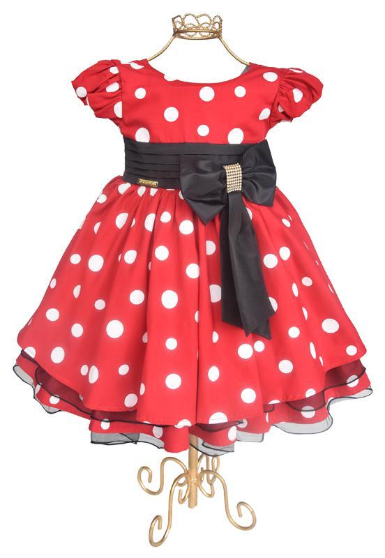 Vestido Vermelho de Poá