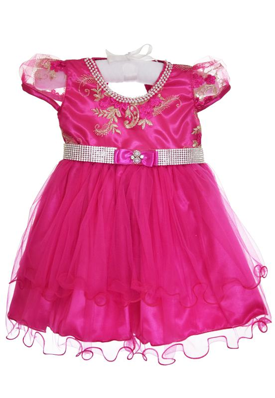 Vestido Pink Realeza
